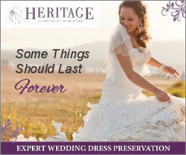Your wedding gown should last forever with expert wedding dress preservation