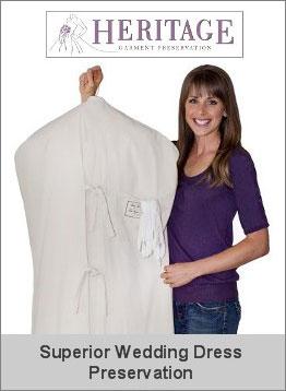 Preserve your wedding dress with superior Museum Method wedding dress preservation