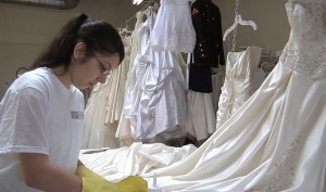 contact info for Wedding gown cleaning by hand