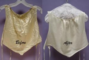 vintage garment Bib