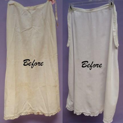 vintage garment Slips